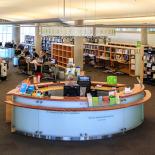 One library floor