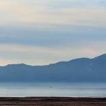 Sunset over The Great Salt Lake near Saltair