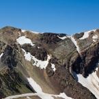 The peak across