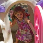 Sarah in the play house