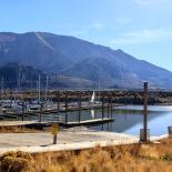 At the Salt Lake Marina