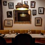 Zucca Restaurant basement as speakeasy
