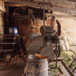Making Soap, top end of the boiler