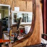 A Knee undergoing restoration