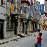 Street in Balat, Istanbul