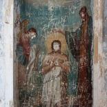 Fresco defaced - 2003