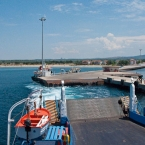 Departing from Geyikli for Tenedos