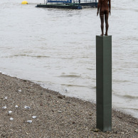 Man on Thames, Photo by Ergun Melin