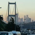 Traffic and towers, the new Istanbul