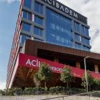 The new Acibadem Hospital with posh interior