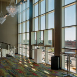 The gallery windows