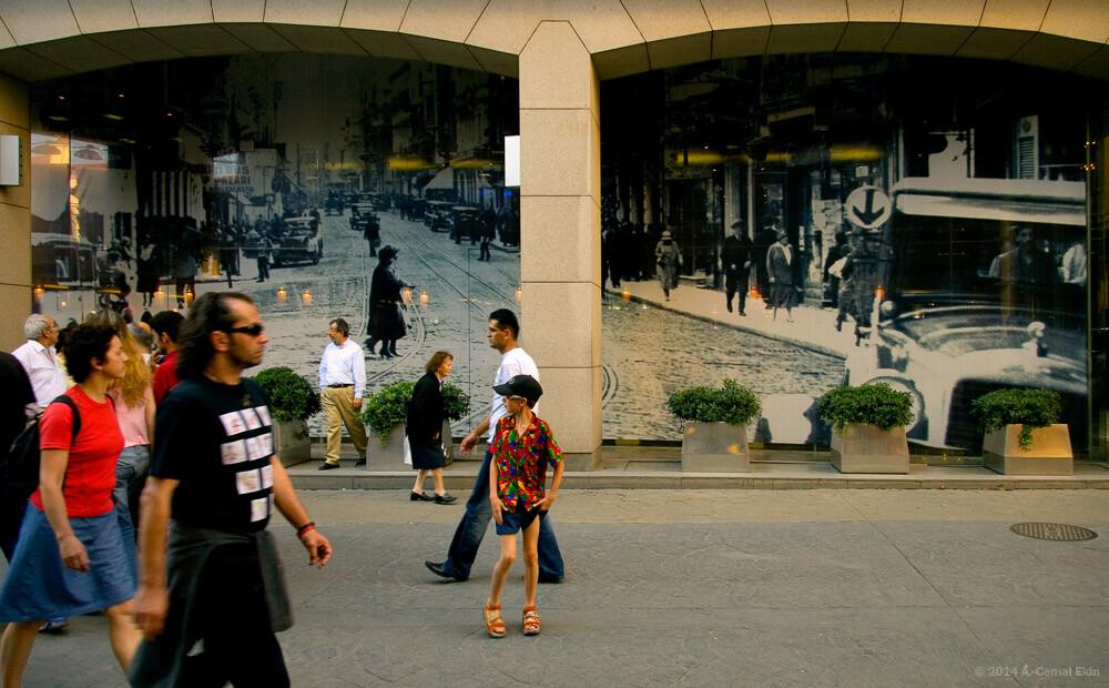 Time Travelers, Beyoglu, Istanbul