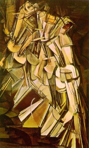 Nude Descending a Staircase - Duchamp