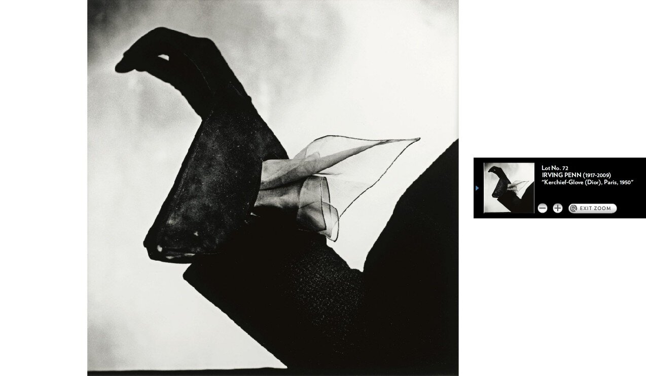 Irving Penn at Sotheby's
