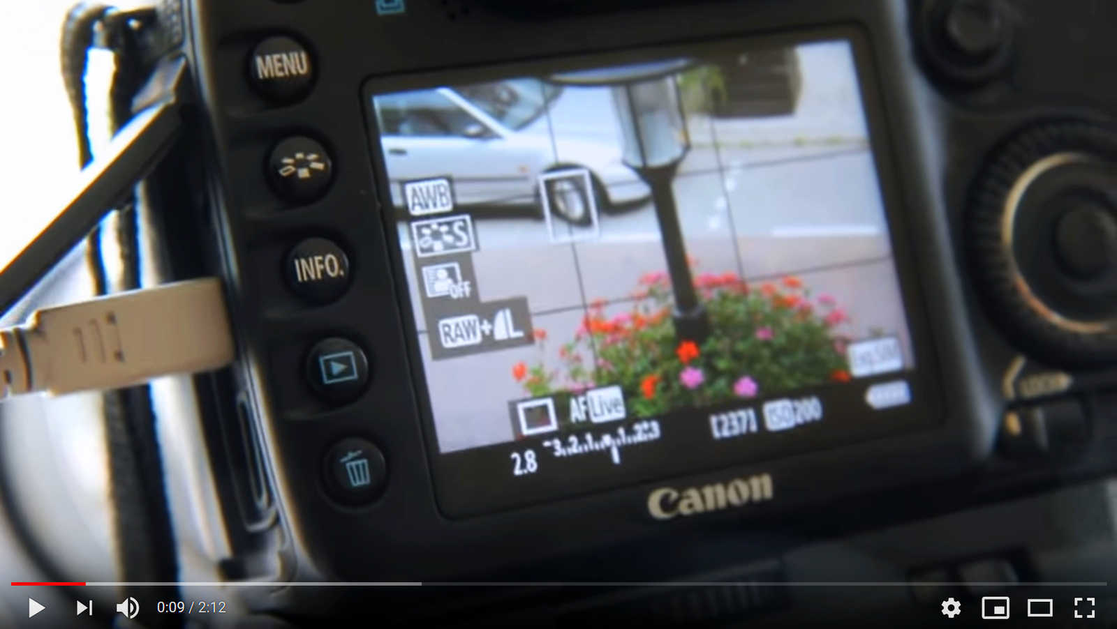 Control Canon cameras with an Android device