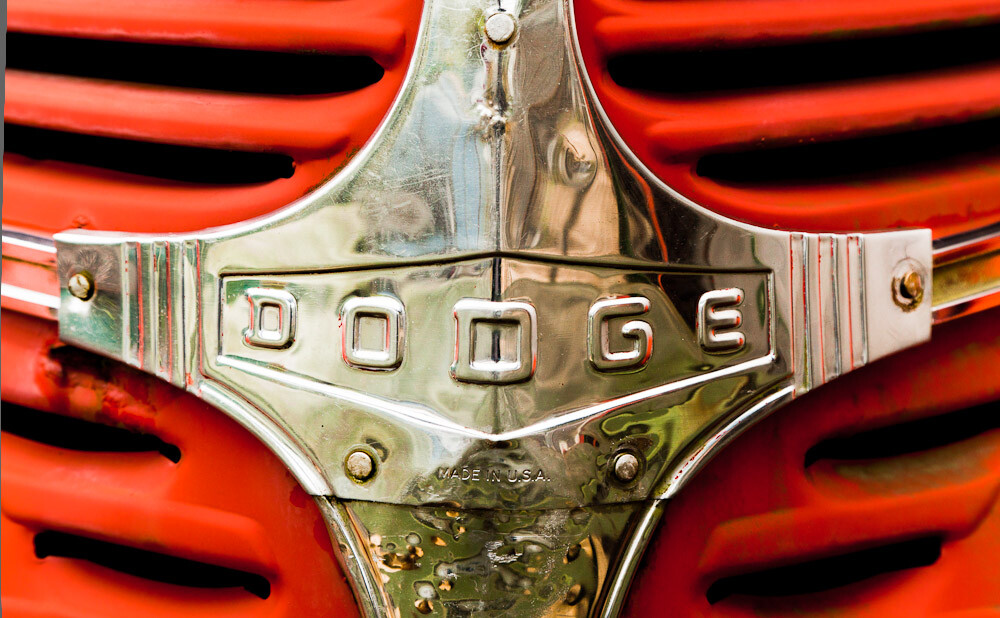 Red Dodge Truck