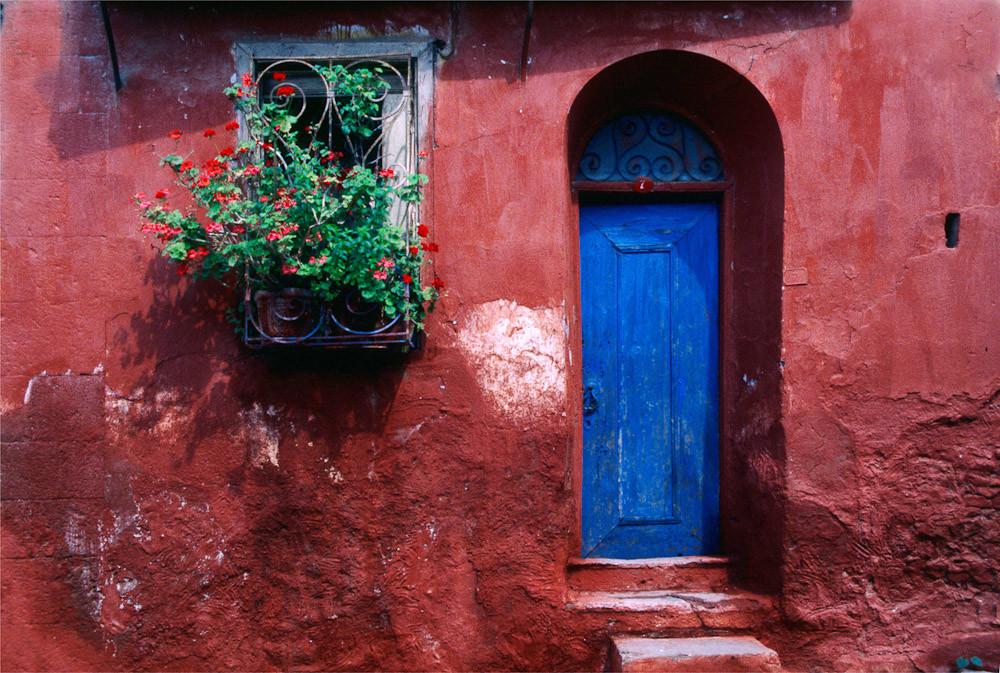 Blue Door, Ayvalik c 1996