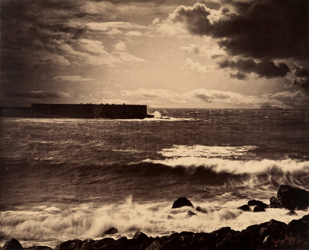 Gustave Le Gray - The Great Wave, Sète