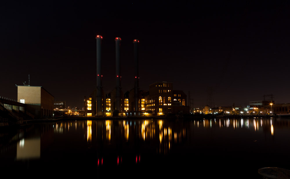 Power plant in single shot