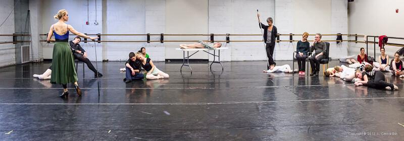 Sleeping Beauty Rehearsal