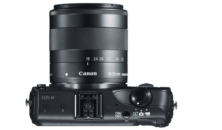 Canon EOS M with 18-55mm Zoom Lens