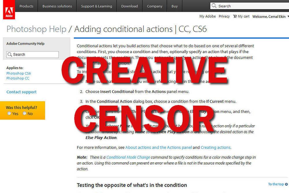 Adobe Creative Censor