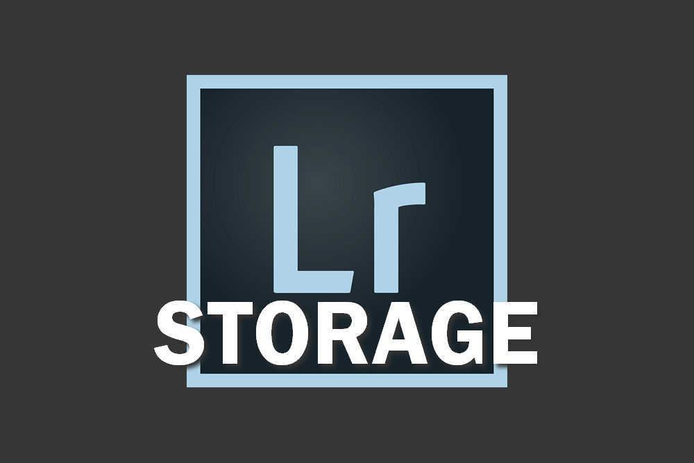Lightroom Storage