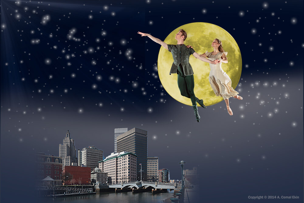 Peter Pan will fly over Providence