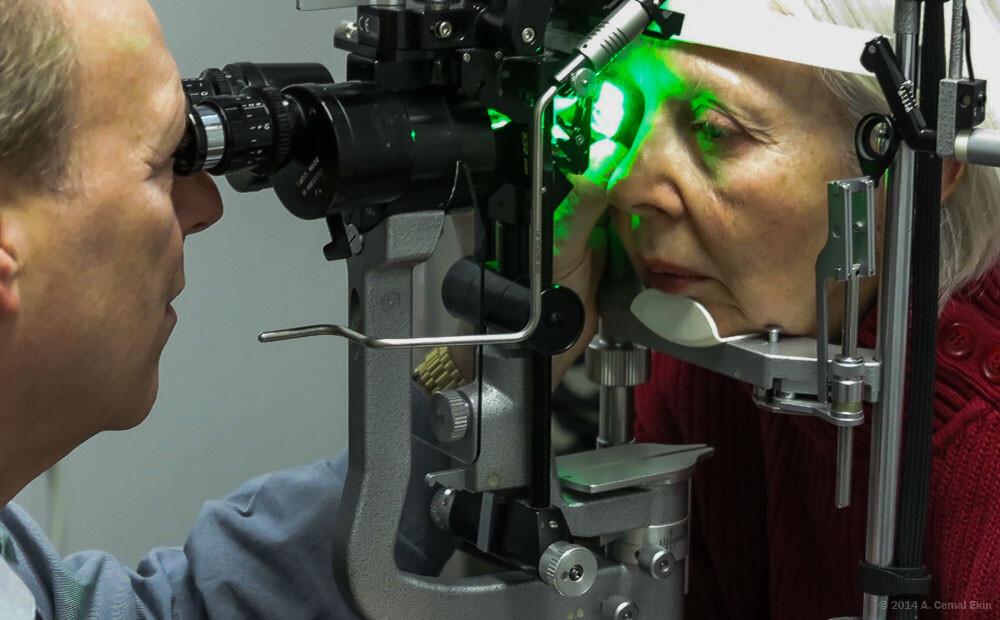 Laser Treatment for Jan's Eye