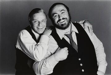 Frank Sinatra and Luciano Pavarotti by Francesco Scovullo