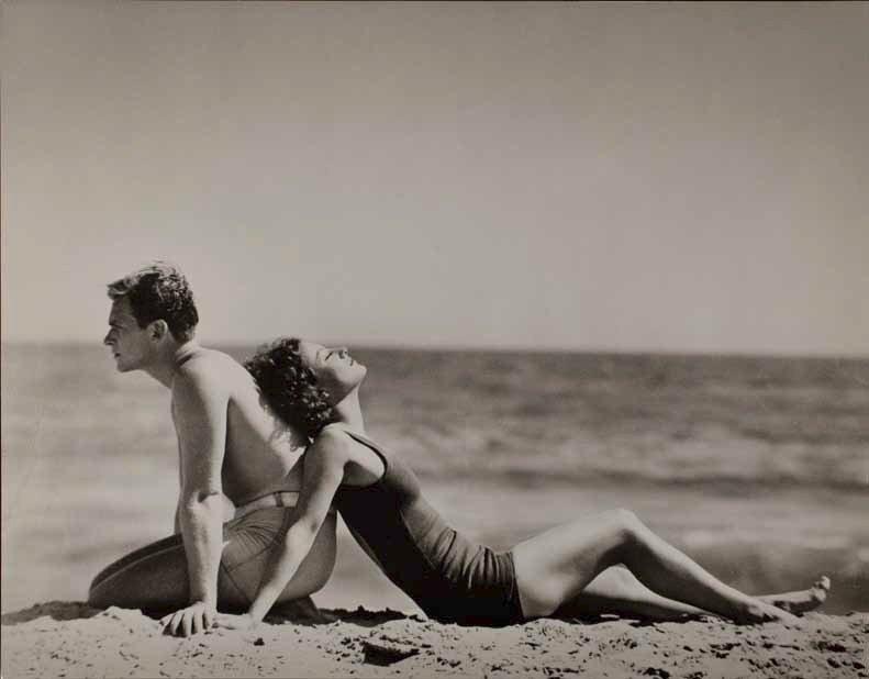 Nicholas Murray, Douglas Fairbanks, Jr. and Joan Crawford, 1929