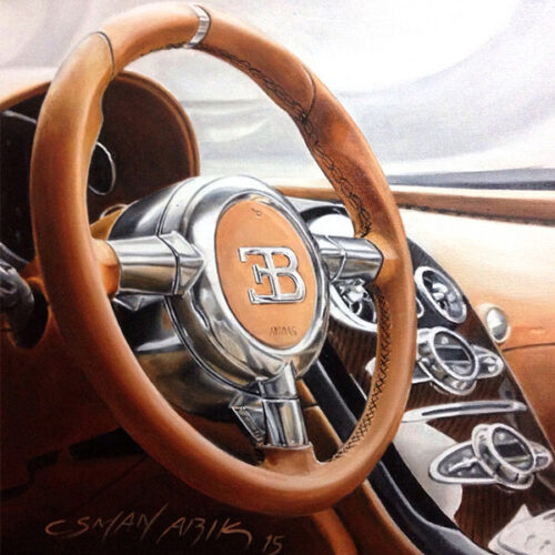 Bugatti by Osman Arik