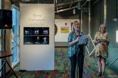 Art League RI President Paulette Miller