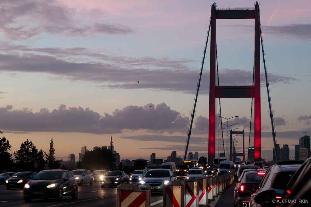 Bosphorus Bridge Traffic