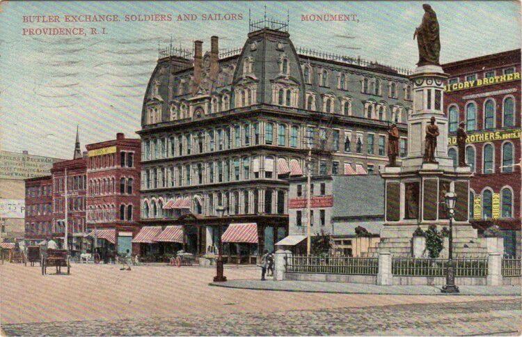 Butler Exchange-1908