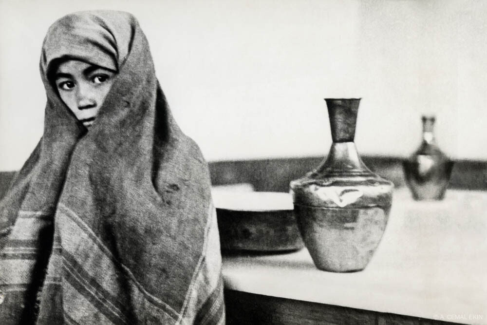 Girl With Water Pitcher