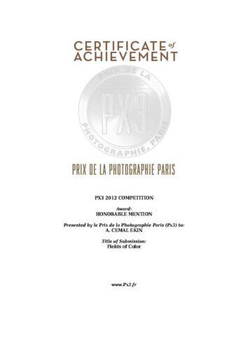 Prix De La Photographic Paris