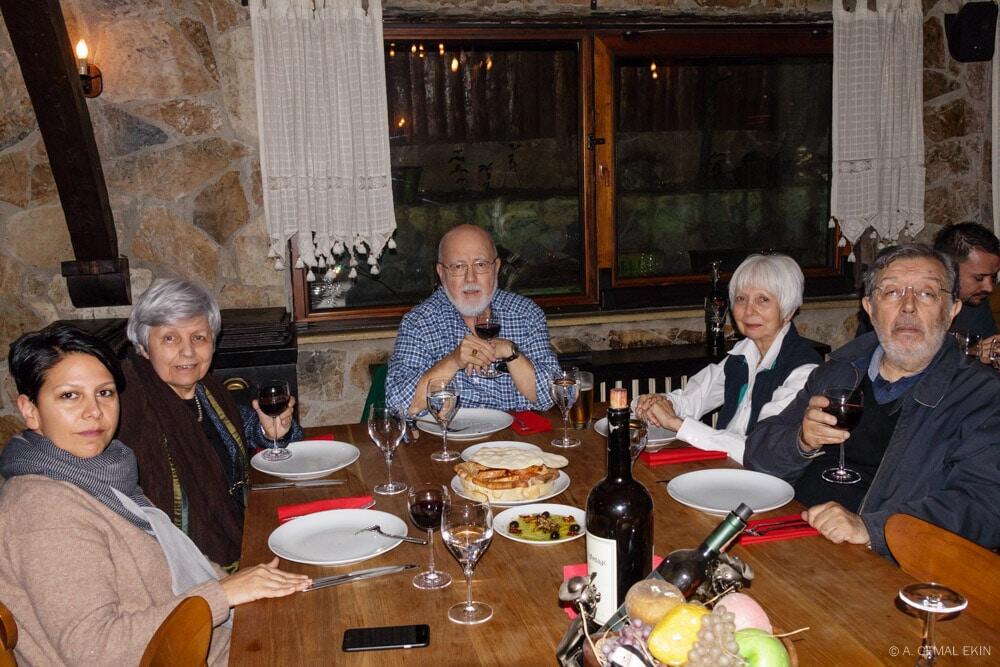 Jan's Birthday Dinner at Rosario