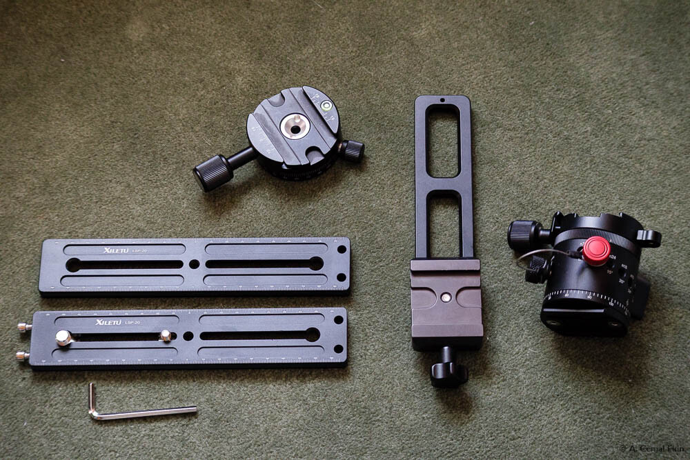Panorama Head Components