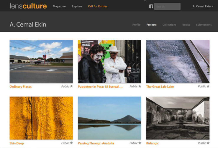 Invited to LensCulture