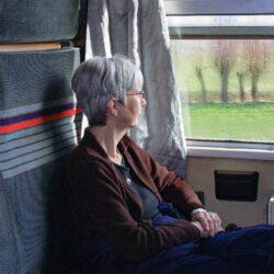 Jan enjoying the scenery