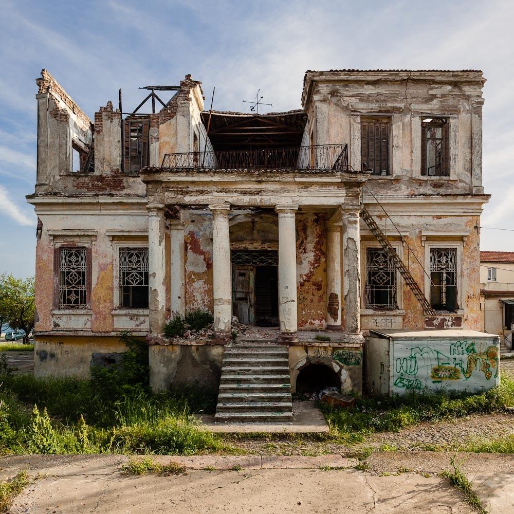 Despot House before restoration