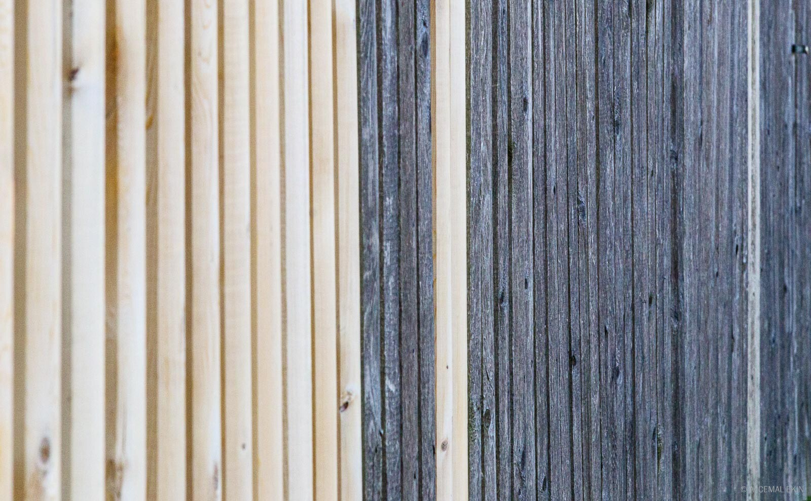 Same wood, different colors
