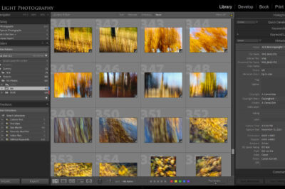 Adobe Lightroom Screen