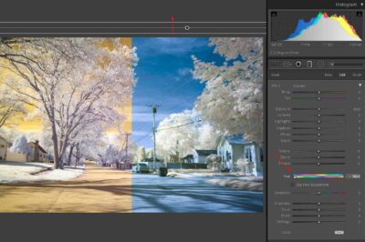 Swapped Channels in Lightroom
